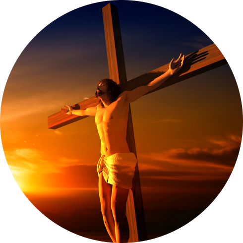 Jesus in the holy Cross